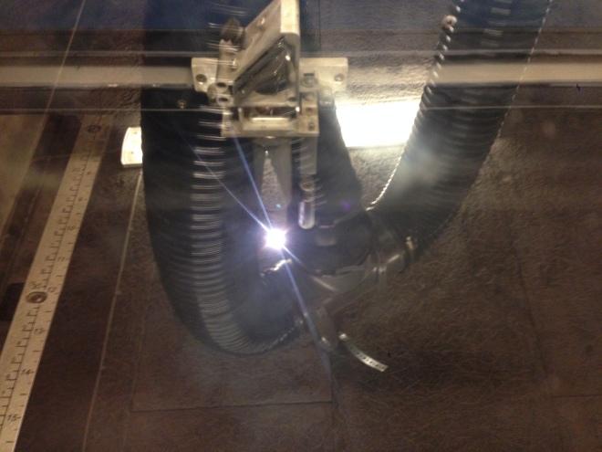 Laserskäraren